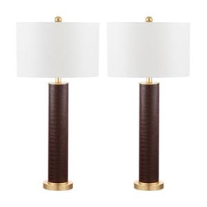 Ollie Table Lamp with Gold Accents (Set of 2)