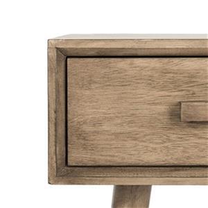 Safavieh Dean Brown 2-Drawer Vanity Writing Desk