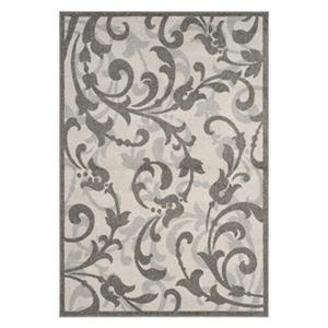 Safavieh Ivory and Tan Amherst Indoor/Outdoor Rug,AMT428K-6