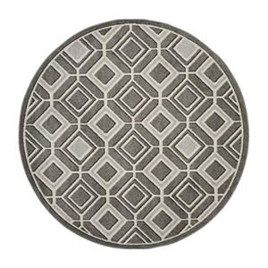 Safavieh Veranda 6-ft x 9-ft Grey Geometric Indoor/Outdoor Rug