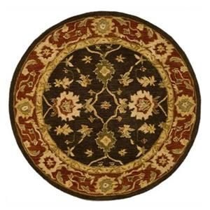 Anatolia Olive and Rust Area Rug