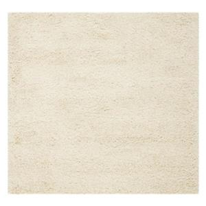 California Shag Ivory Area Rug