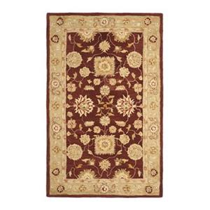Anatolia Red and Sage Area Rug