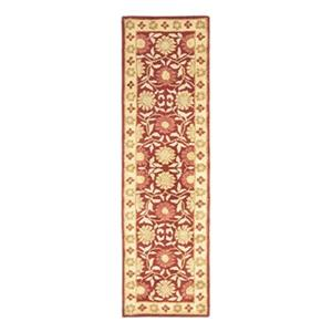 Heritage Red and Beige Area Rug