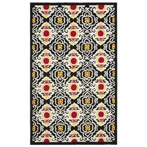 Safavieh Four Seasons Cream/Multi 96-in x 60-in Indoor/Outdoor Area Rug