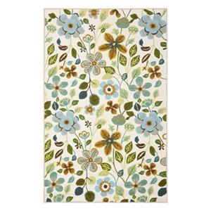 Safavieh Four Seasons 5 ft x 8 ft Ivory and Multi Colour Area Rug