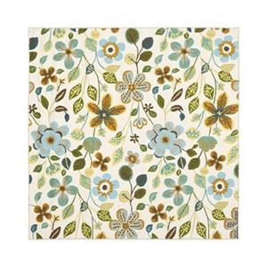 Safavieh Four Seasons 6 ft x 6 ft Tan and Multi Colour Area Rug