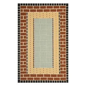 Safavieh Four Seasons 8-ft x 5-ft Brown Area Rug