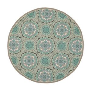 Safavieh Four Seasons Mint and Aqua Area Rug