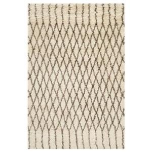 Casablanca White and Grey Area Rug