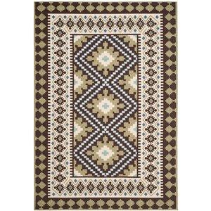 Safavieh Veranda 8-ft x 11-ft Brown Geometric Indoor/Outdoor Area Rug