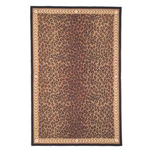 Chelsea Leopard Print Area Rug