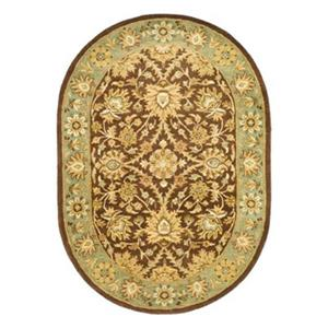 Antiquities Brown Area Rug