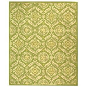 Chelsea Green and Beige Area Rug