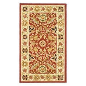 Chelsea Area Rug, Red/Ivory