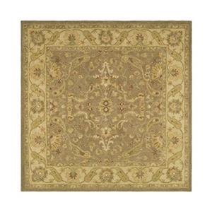 Antiquity Brown and Gold Area Rug