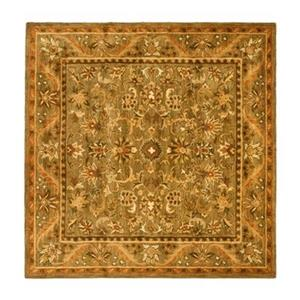 Antiquity Olive and Gold Area Rug