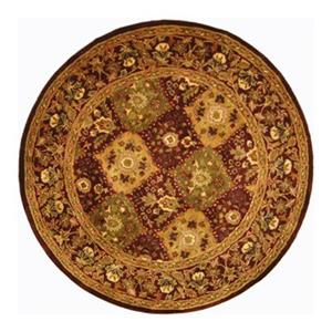 Antiquities Area Rug, Wine