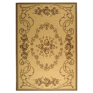 Safavieh CY1893-3001 Courtyard Indoor/Outdoor Area Rug, Natu