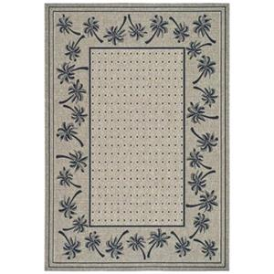 Courtyard Indoor/Outdoor Area Rug, Coffee
