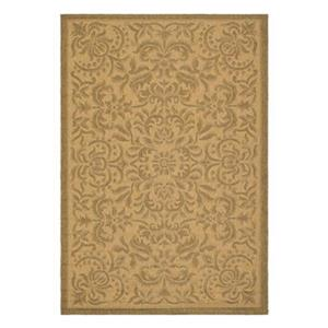 Courtyard Indoor/Outdoor Area Rug, Natural