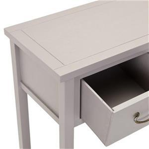 Safavieh Cindy 3-Drawer Rectangular Grey Console Table