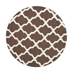Cambridge Dark Brown and Ivory Area Rug