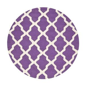Cambridge Purple and Ivory Area Rug