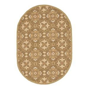 Chelsea Brown and Green Area Rug