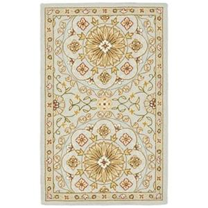 Chelsea Teal and Green Area Rug