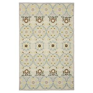 Chelsea Light Blue and Ivory Area Rug