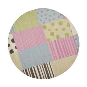 Kids Pink and Blue Area Rug