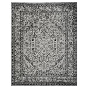 Adirondack Silver and Black Area Rug
