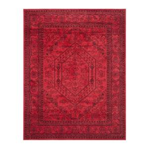 Adirondack Red and Black Area Rug