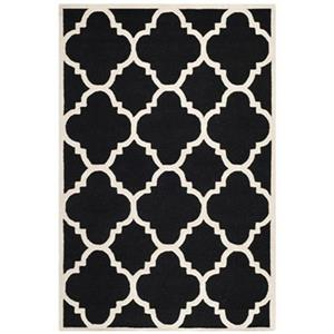Cambridge Black and Ivory Area Rug