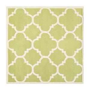 Cambridge Green and Ivory Area Rug
