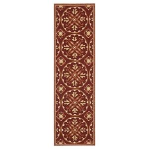 Four Seasons Red and Orange Area Rug