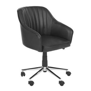 Safavieh Fox 20.9-in Black Hilda Desk Chair