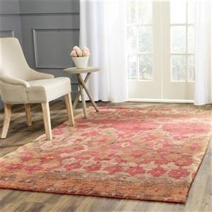 Bohemian Natural and Gold Area Rug