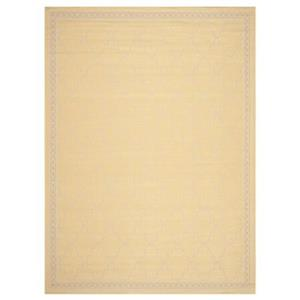 Safavieh Courtyard 11 ft x 8 ft Yellow and Beige Area Rug