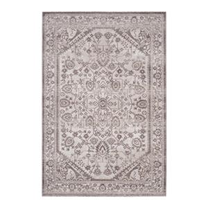 Artisan Beige and Brown Area Rug