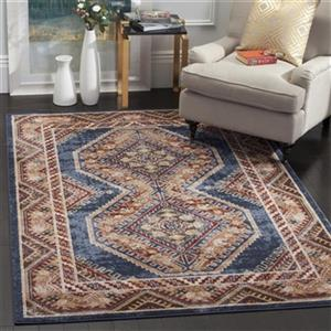 Bijar Royal and Rust Area Rug