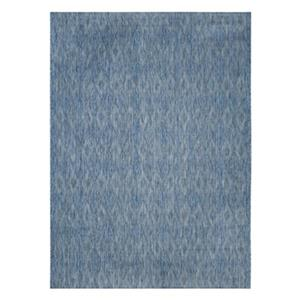 Safavieh Courtyard 11-ft X 8-ft Blue Indoor Outdoor Rug