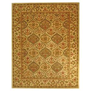 Antiquities Olive Area Rug, Beige/Olive