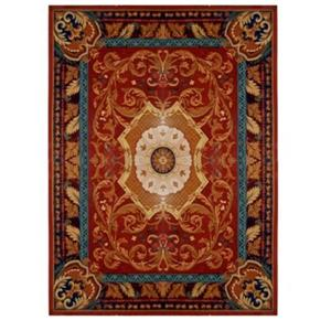 Empire Red and Burgundy Area Rug