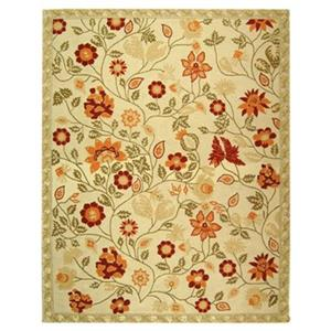 Chelsea Area Rug, Ivory/Green