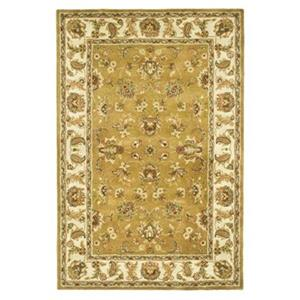 Heritage Mocha and Ivory Area Rug