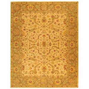 Antiquity Ivory and Brown Area Rug