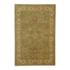 Antiquity Green and Gold Area Rug