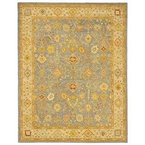 Antiquity Blue and Ivory Area Rug